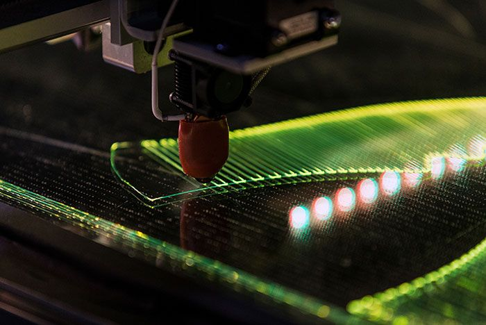 Nike Flyprint Production