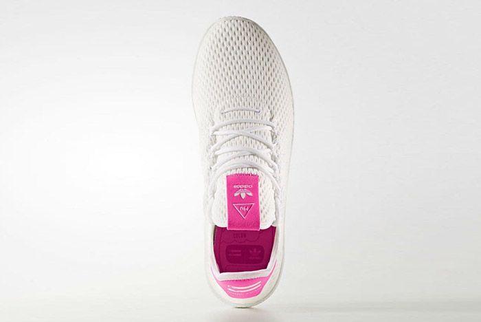 Adidas Pharrell Williams Tennis Hu Pastel Pink 4