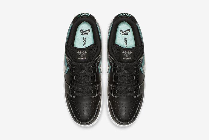 Diamond Supply Co Nike Sb Dunk Low Black Official 3
