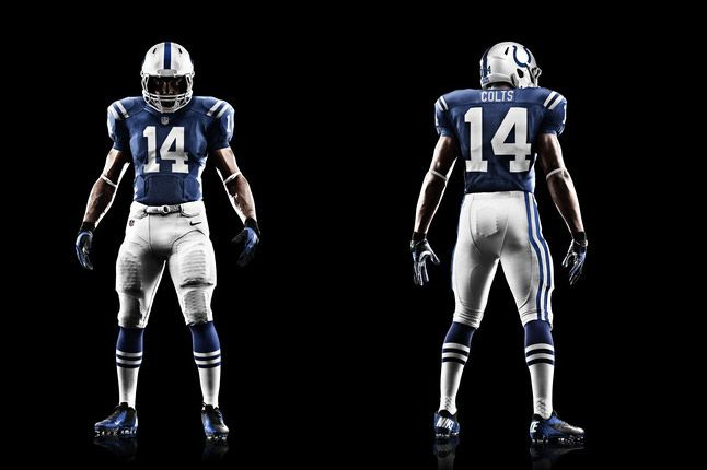 Indianapolis Colts Uniform 1