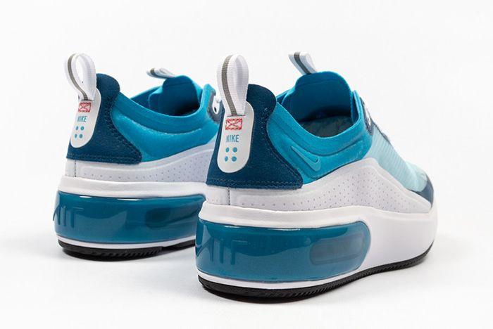 Nike Air Max Dia Se Blue Force Ar7410 104 Heel Shot