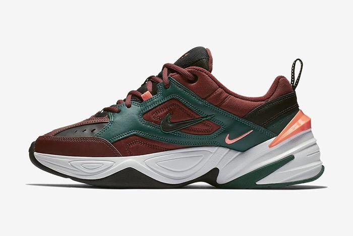 Nike M2K Tekno Pueblo Brown Pure Platinum 1