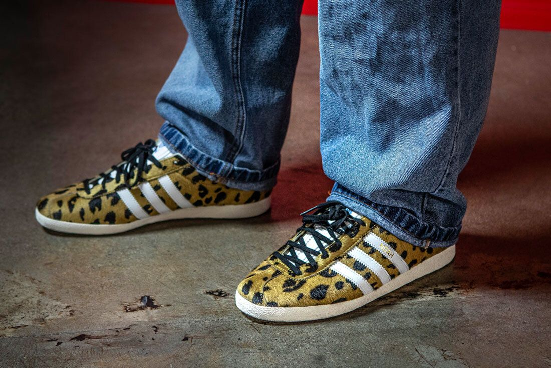 Gabe - Noah x adidas Gazelle 'Cheetah' on foot