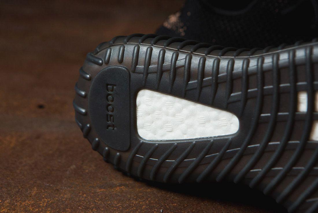 Adidas Originals Yeezy Boost 350 V2 Black Copper Solar Red Green 25