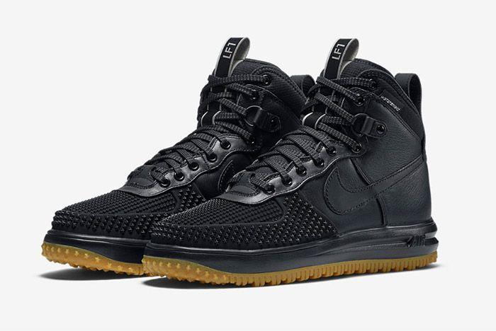 Nike Lunar Force 1 Duckboot Black 5