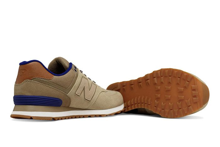 New Balance 574 Collegiate Pack Beige 1