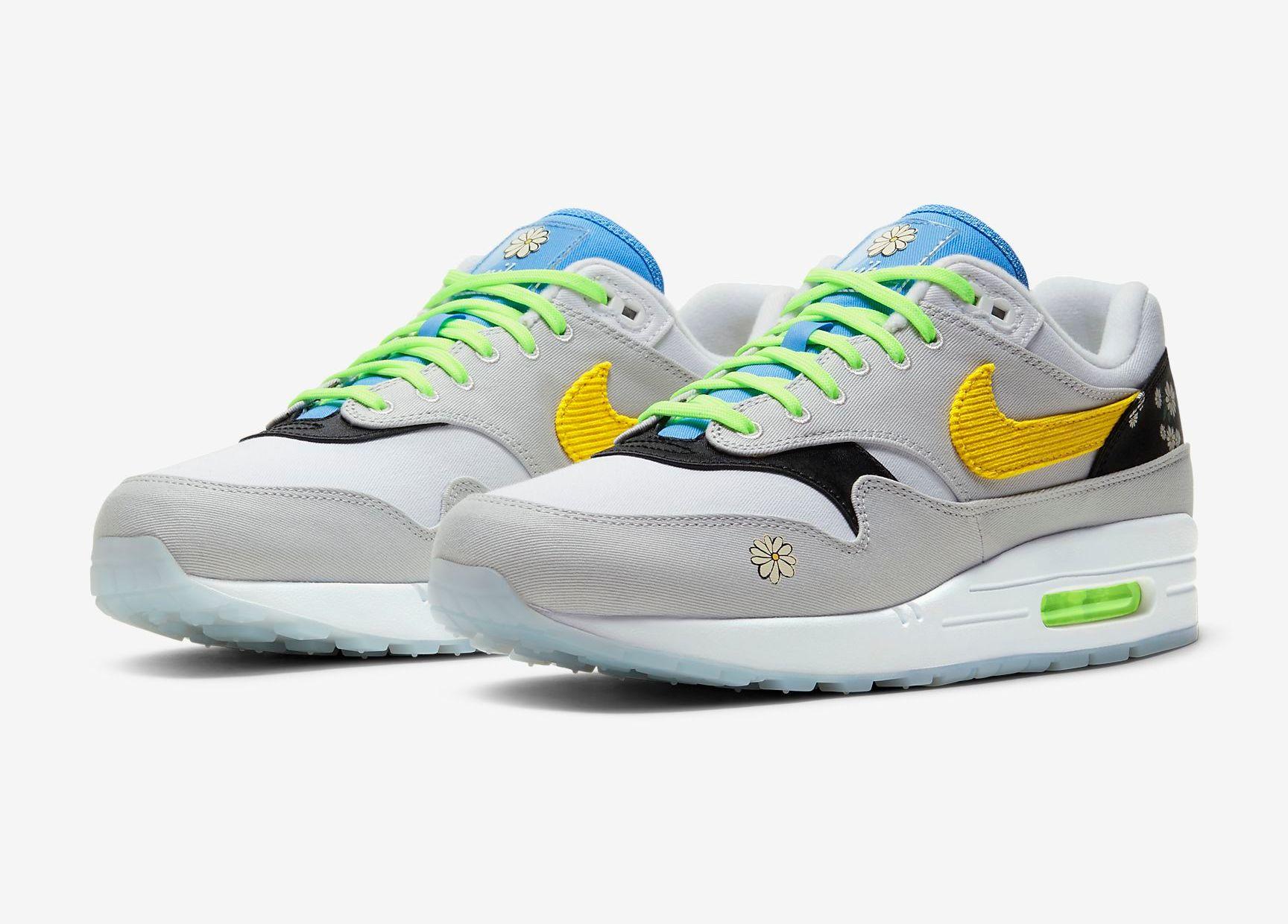 Nike Air Max 1 Daisy Angled