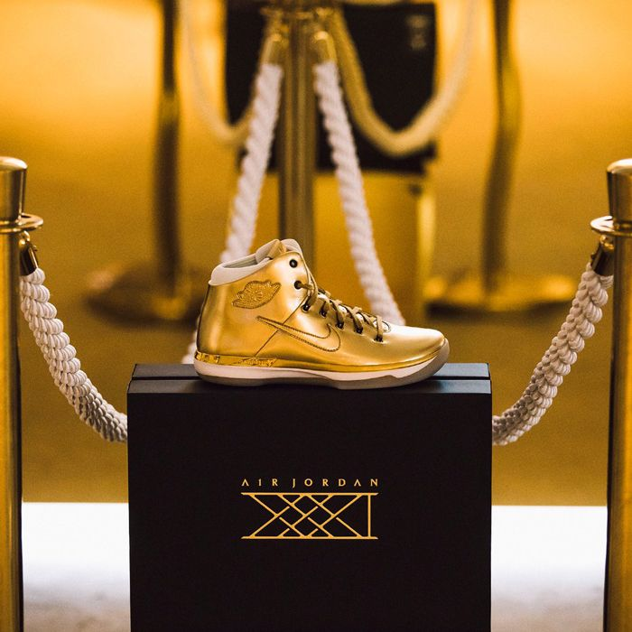 Air Jordan Xxxi Gold2