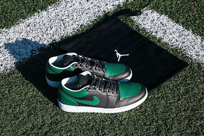 Air Jordan 1 New York Jets Pe Grass
