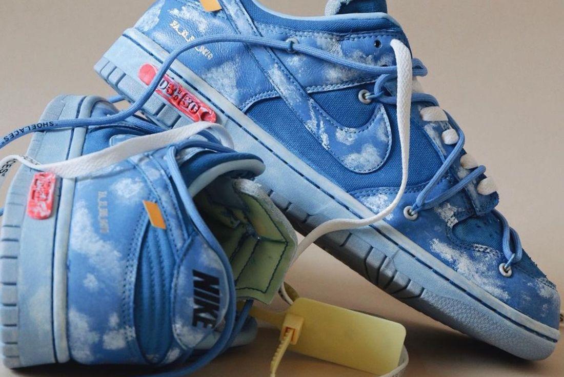 Custom Off White Nike Dunk Low