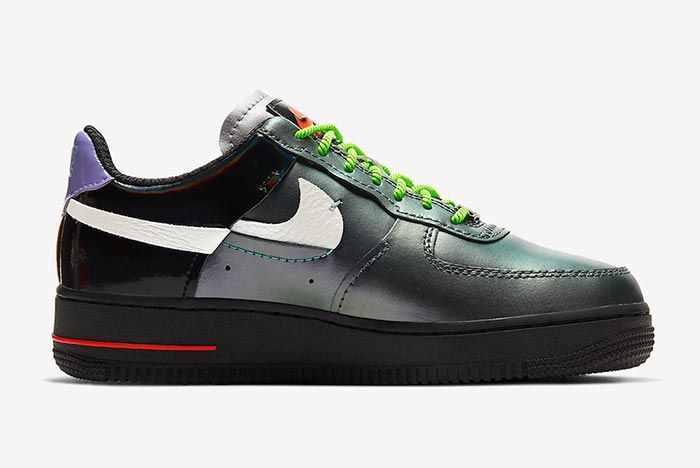 Nike Air Force 1 Vandalized Right Side Shot