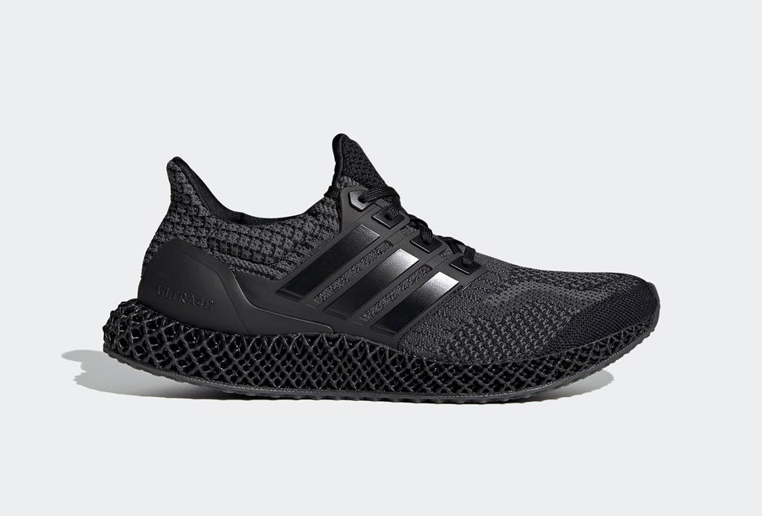 adidas Ultra4D Core Black/Carbon