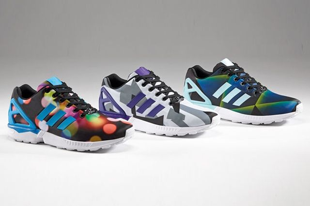 Adidas Zx Flux New Graphicprints March 1