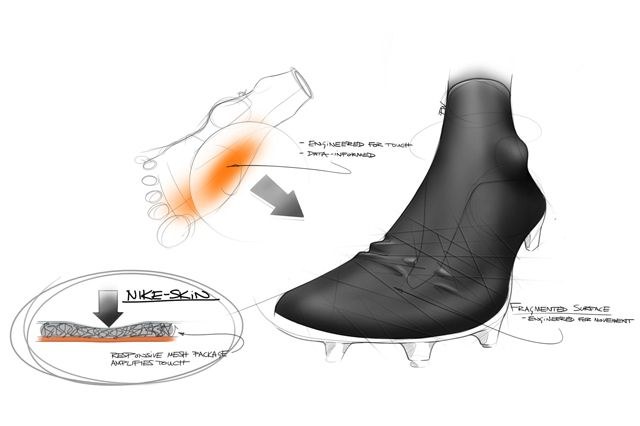 Nike Hypervenom 2 Design Sketches 4