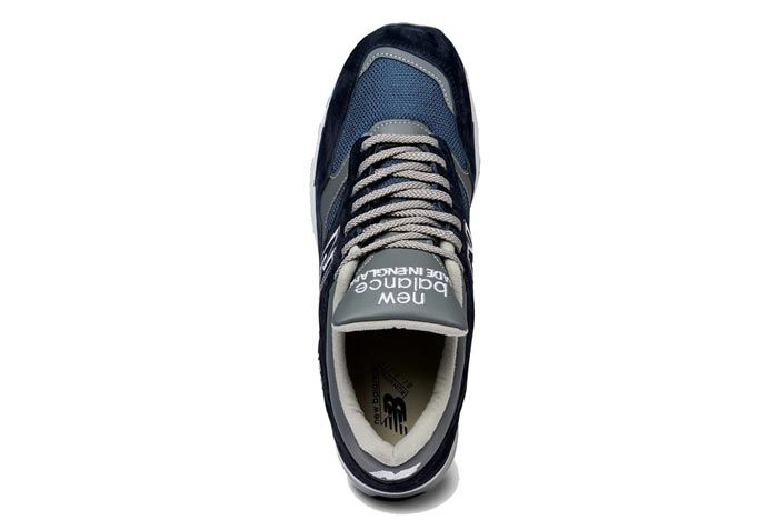 New Balance 1500 Made In England Grey Navy Top