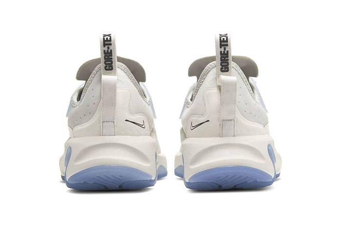 Nike React Type Gore Tex White Bq4737 002 Release Date Heel