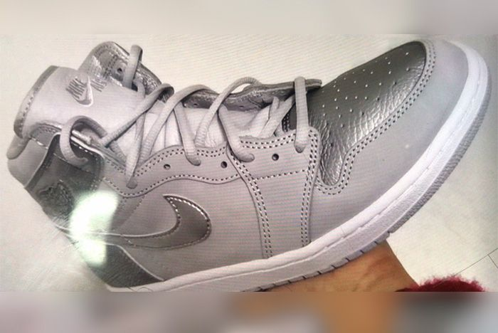 Air Jordan 1 Japan Neutral Grey Metallic Silver White 555088 029 Release Date Leak