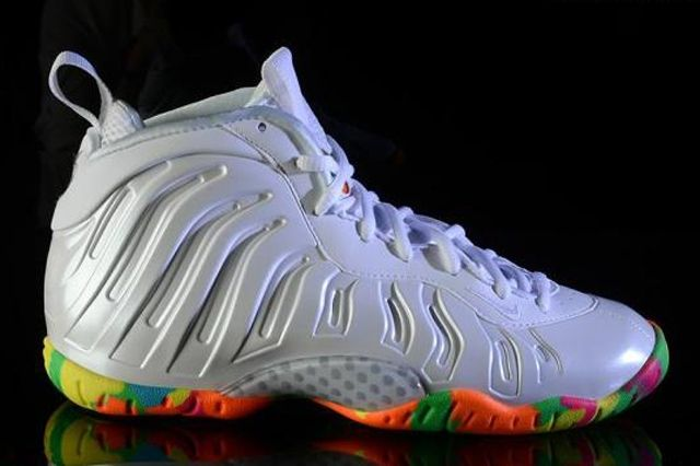 Nike Lil Posite One Rainbow Sole