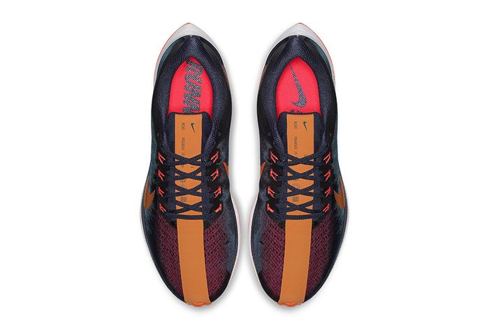 Nike Zoom Pegasus Turbo Blackened Blue Orange Peel 4