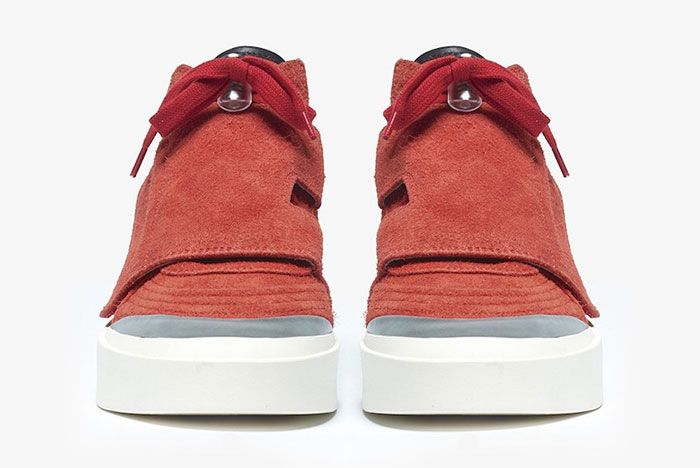 Fear Of God Red Skate Toe
