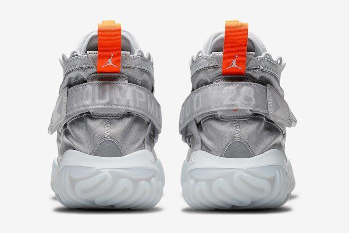 Jordan Proto React Pure Platinum Total Orange Heels
