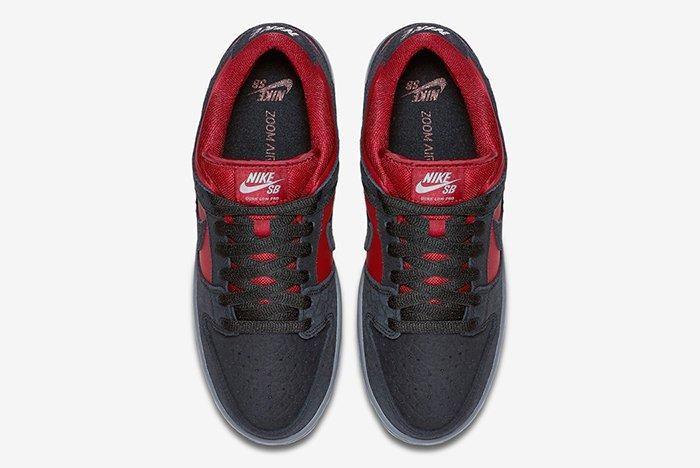 Nike Sb Dunk Low Wine Red3