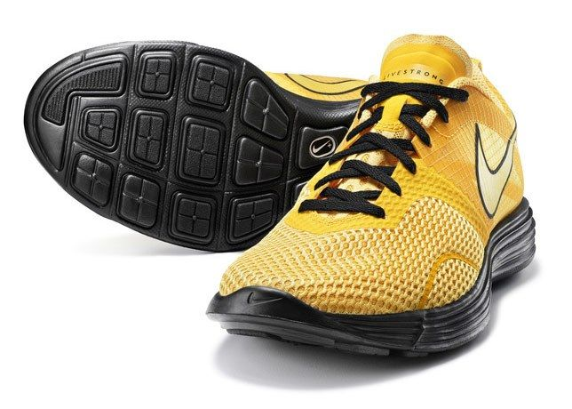 Nike Yellow Livestrong Sneaker 2