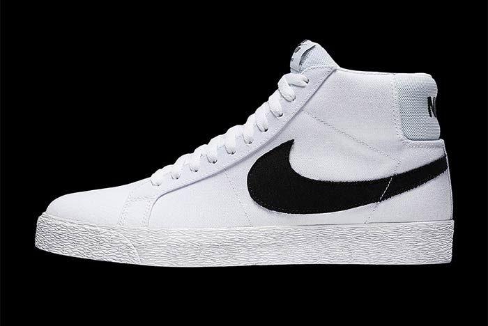 Nike Sb Blazer Mid Canvas 2