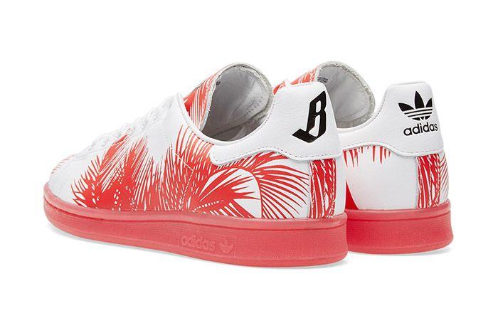 Billionaire Boys Club Bbc Adidas Stan Smith Red 2