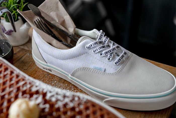 Sweet Chick Vans Authentic White Top Shot 1