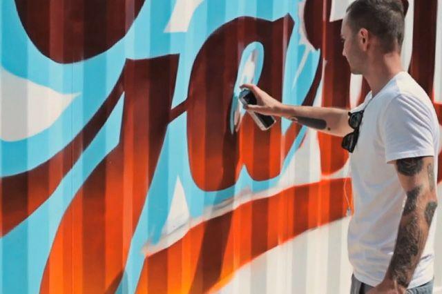 Boxpark Graffiti– Aroe Gary Msk