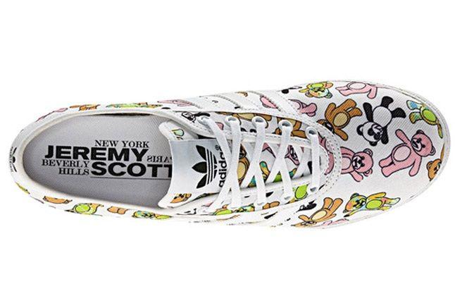 Jeremy Scott X Adidas Originals Js P Sole Bear Print Birds Eye 1