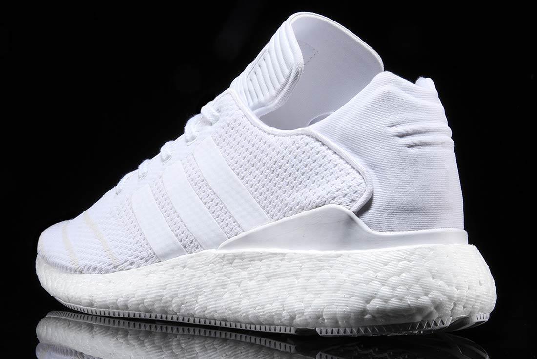 Adidas Busenitz Pure Boost Triple White 2