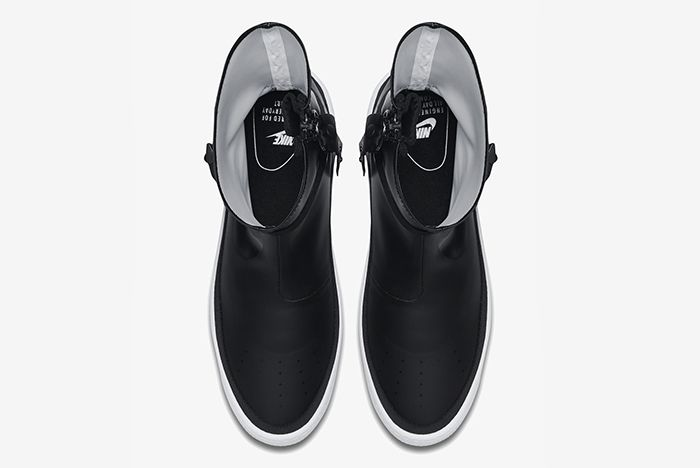 Nike Air Force 1 Sage Hi Black White 3