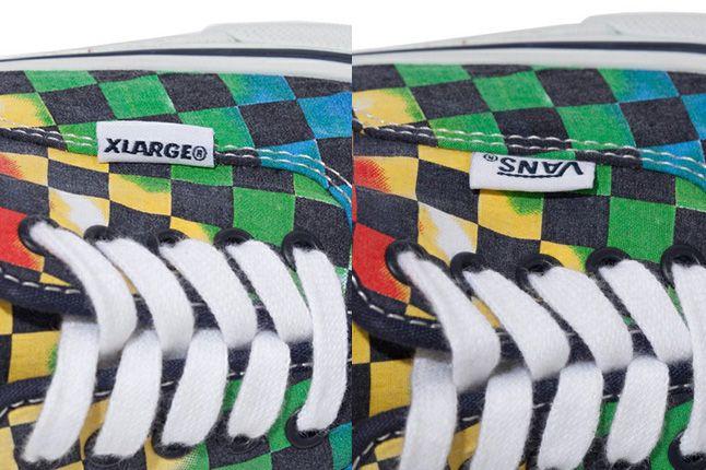 Xlarge Vans Authentic Tie Dye Checker Flag 1