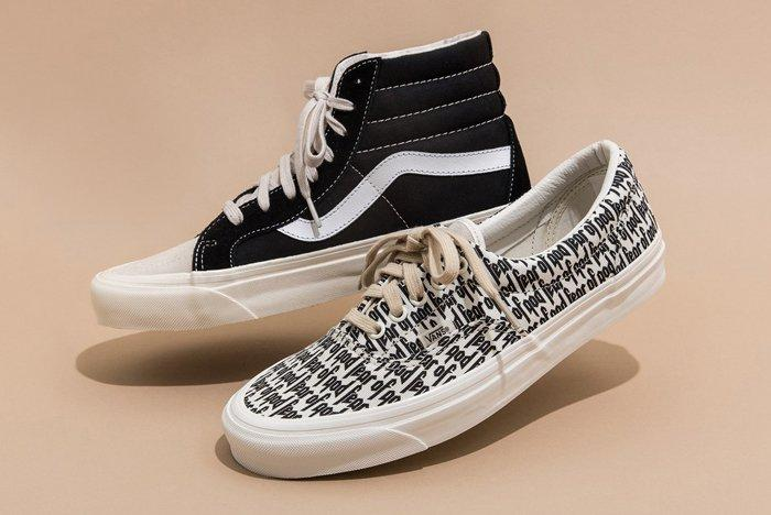Fear Of God X Vans Collection