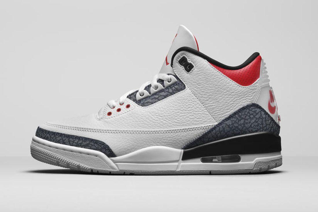 Air Jordan 3 'Fire Red'
