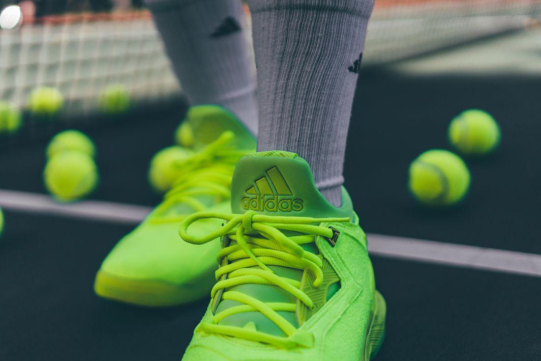 Adidas D Lillard 2 Tennis Ball4