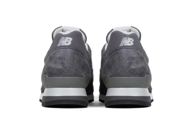 New Balance 996 Heritage Grey Silver 1