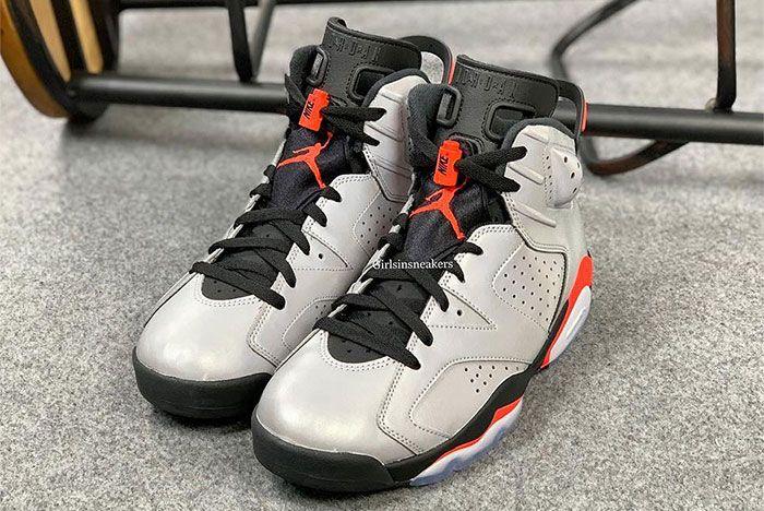 Air Jordan 6 Reflective Infrared Front