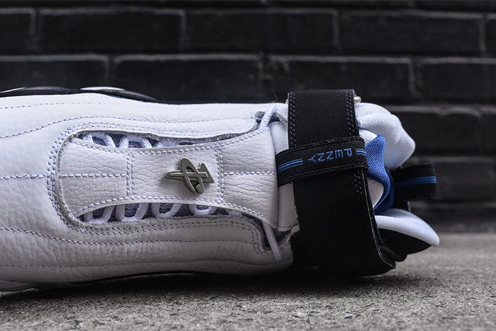 Nike Air Penny Iv White Black Atlantic Blue 2