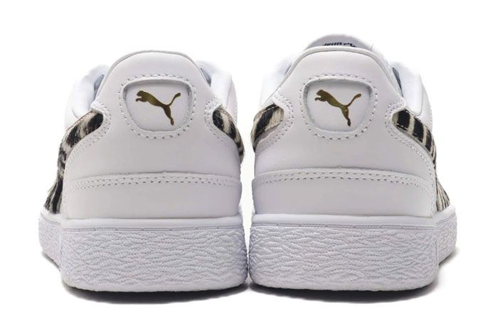 Puma Ralph Sampson Wild Pack White Heel