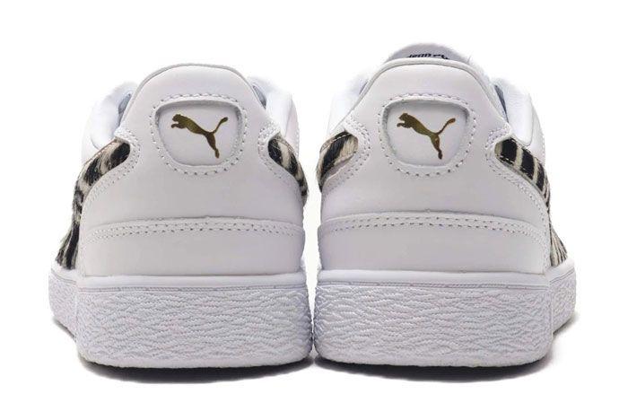 Puma Ralph Sampson Wild Pack White Heel
