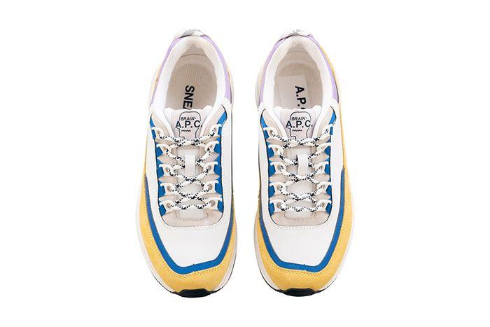 Brain Dead Apc Jay Sneaker Yellow Release Date Top Down