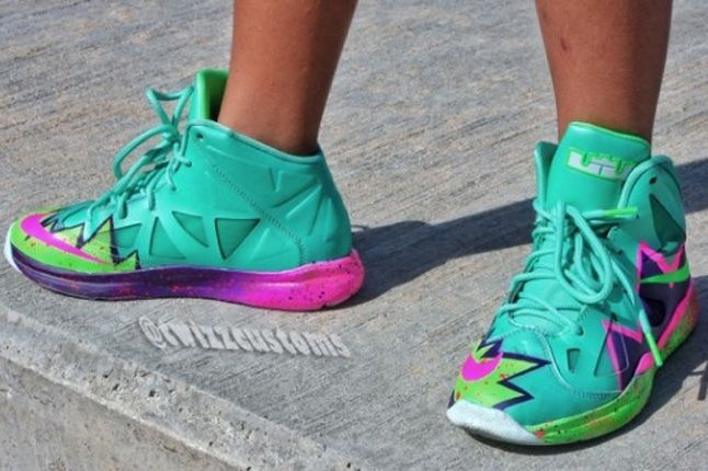 Nike Lebron 10 Gs Custom Pow 3 1