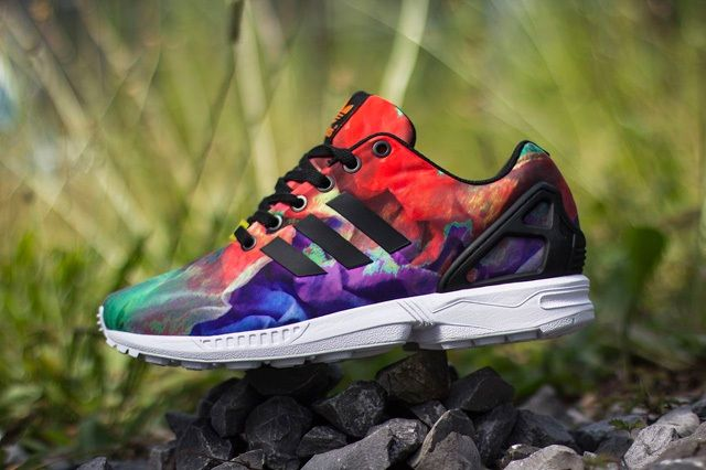 Adidas Zx Flux Water Colour 1