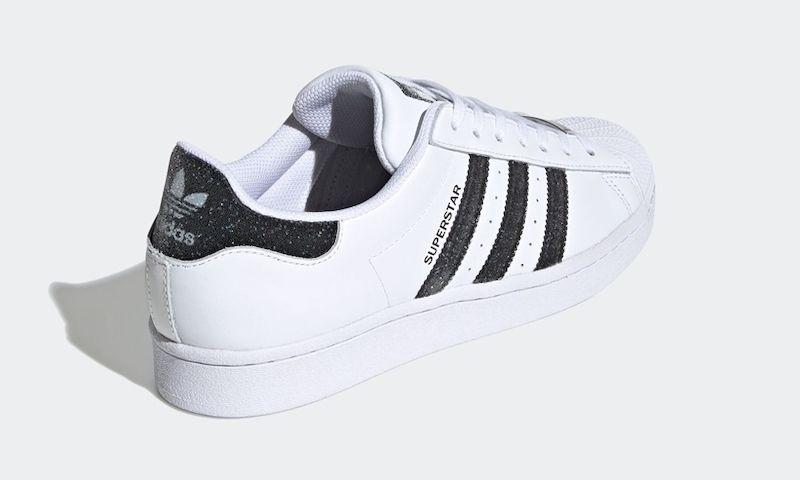 adidas Swarovski Superstar Angled Heel