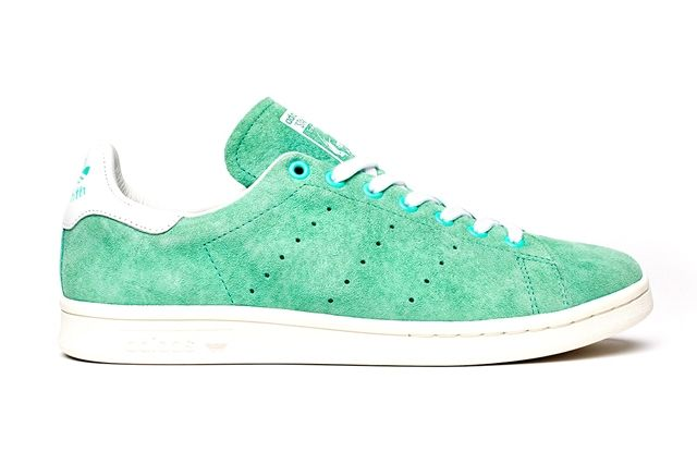 Adidas Stan Smith Suede Pack Green