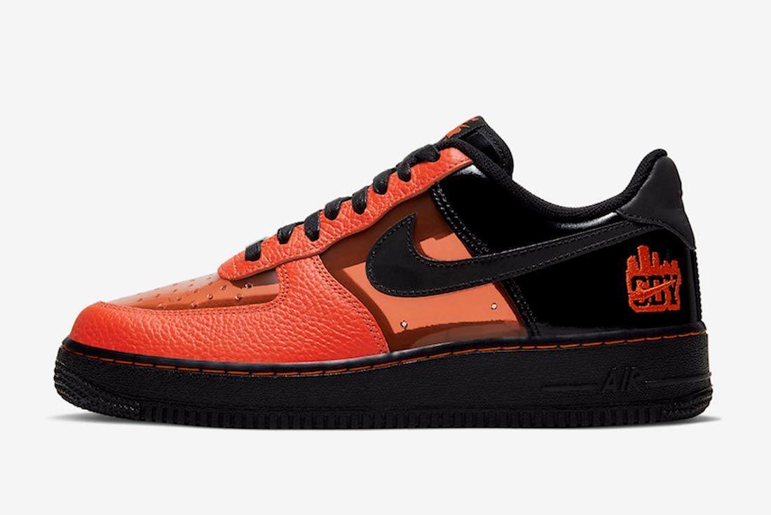 Nike Air Force 1 Shibuya Halloween Ct1251 006 Lateral