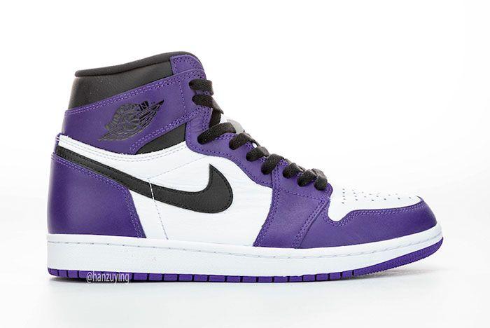 Air Jordan 1 Court Purple Right